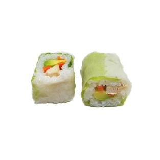 Rice Roll Poulet Carotte Avocat